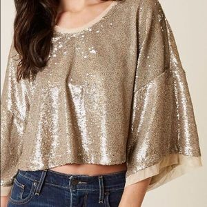Free People Champagne Dreams top.